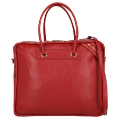 Balenciaga Woman Shoulder bag Red Leather