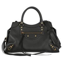 Balenciaga  Women   Handbags  Black Leather