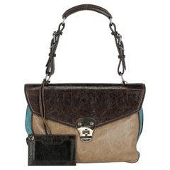 Balenciaga  Women   Shoulder bags  Black, Blue, Brown Leather