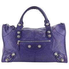 Balenciaga Work Giant Studs Bag Leather