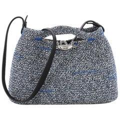 Balenciaga Zigzagger Handbag Woven Fabric