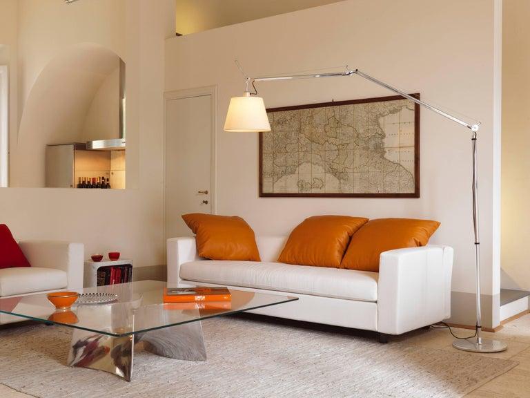 Baleri Italia Bentz Low Square Aluminium Coffee Table by Jeff Miller In New Condition For Sale In Telgate, IT