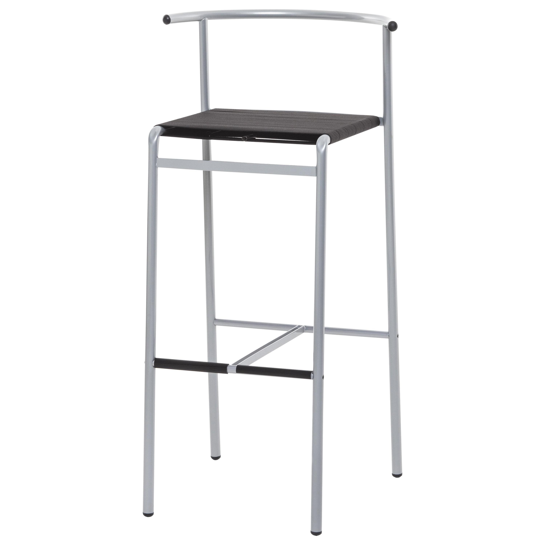 Baleri Italia Cafè Chair Bar Stool Steel by Philippe Starck