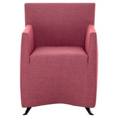Baleri Italia Caprichair Armchair in Pink Fabric by Hannes Wettstein