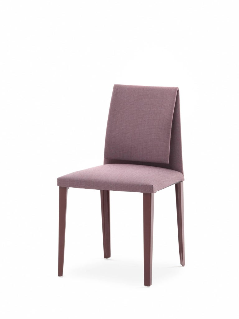 Baleri Italia Mar 236 Chair In Mauve By Luigi Baroli For Sale