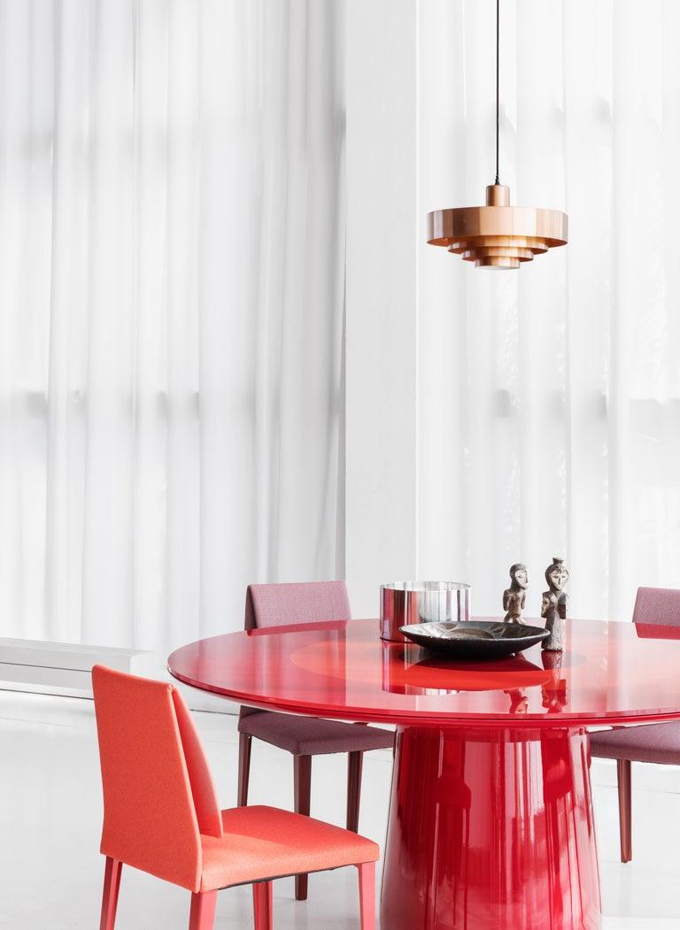 Modern Baleri Italia Roundel Table in Black Marble and Oak by Claesson Koivisto Rune For Sale