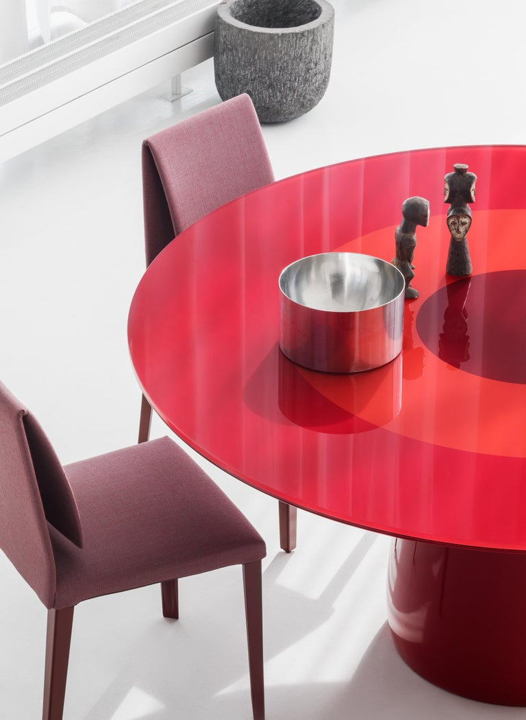 Italian Baleri Italia Roundel Table in Black Marble and Oak by Claesson Koivisto Rune For Sale
