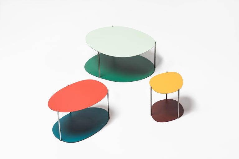 Modern Baleri Italia Small Picos Coffee Table in Steel by Claesson Koivisto Rune For Sale