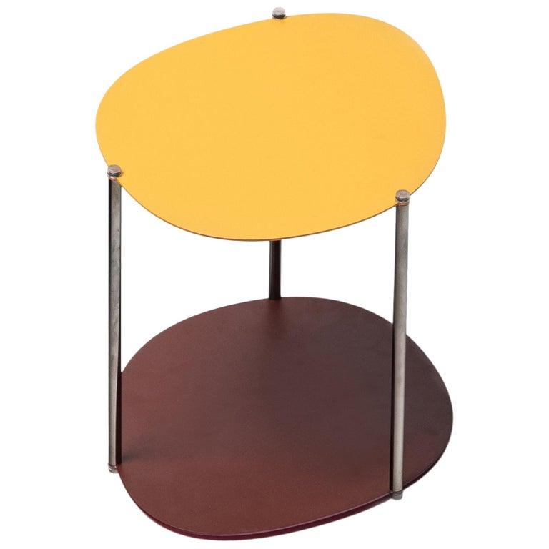 Baleri Italia Small Picos Coffee Table in Steel by Claesson Koivisto Rune For Sale