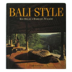 Bali Style Hard Cover Book