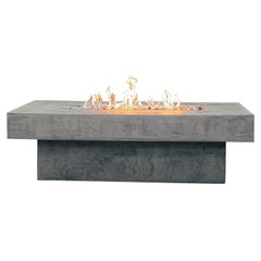 Bali Uno Fire Table by Andres Monnier