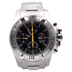 Ball Titanium and Stainless Steel Chronograph Engineer Hydrocarbon