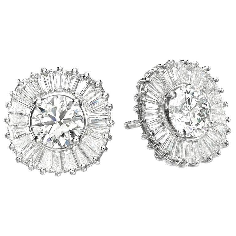 Interchangeable Earring Set Diamonds, Sapphires, Emeralds & Black Diamonds