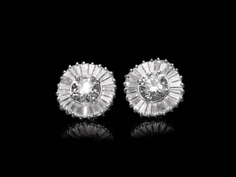 Interchangeable Earring Set Diamonds, Sapphires, Emeralds & Black Diamonds 1