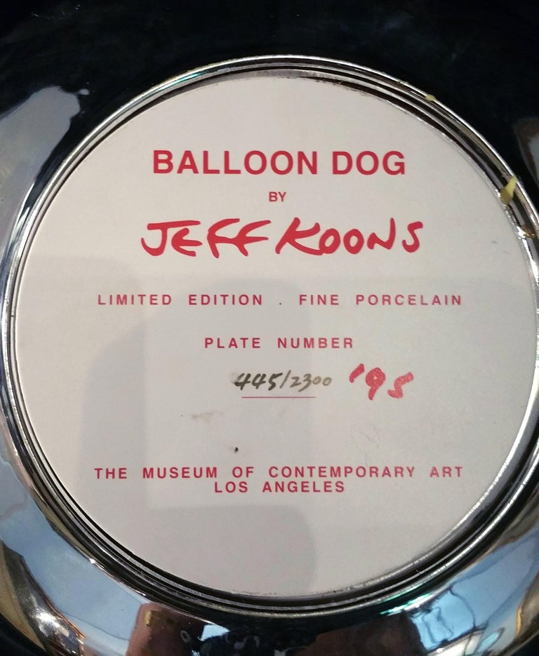 Balloon Dog 'Red' by Jeff Koons For Sale 5