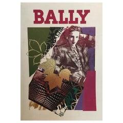 Bally Bag 1970s Vintage Poster Original Vintage Poster