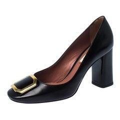 Bally Black Leather Bemmy Pumps Size 37