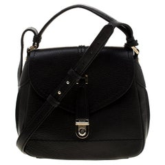 Bally Black Leather Crossbody Bag