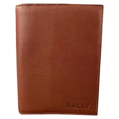 BALLY Brown Leather Rectangle Agenda