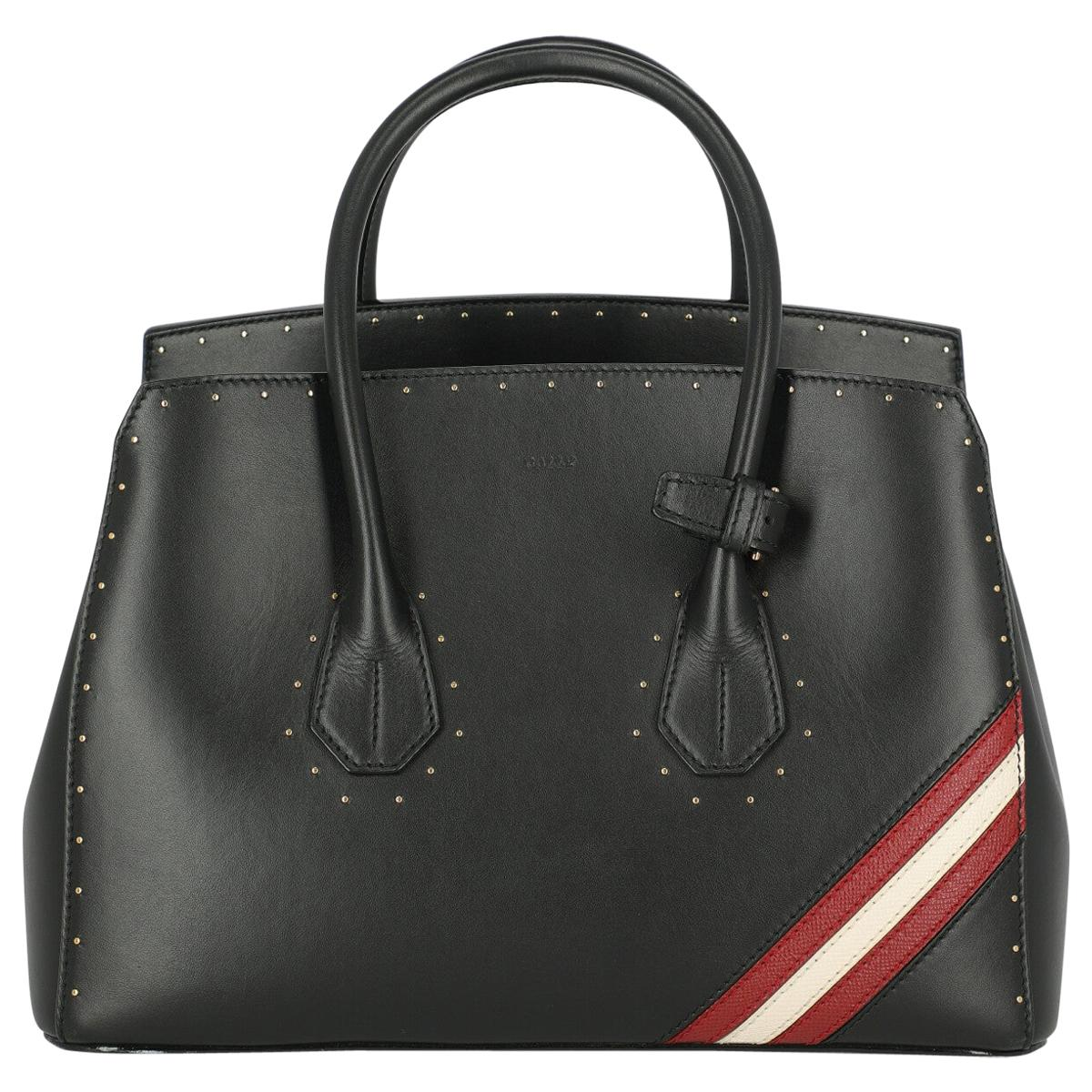 Bally Woman Handbag  Black Leather