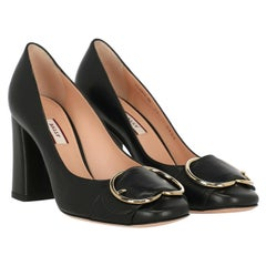 Bally Woman Pumps Black Leather IT 36