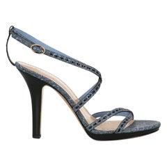 Bally Woman Sandals Black Leather IT 40