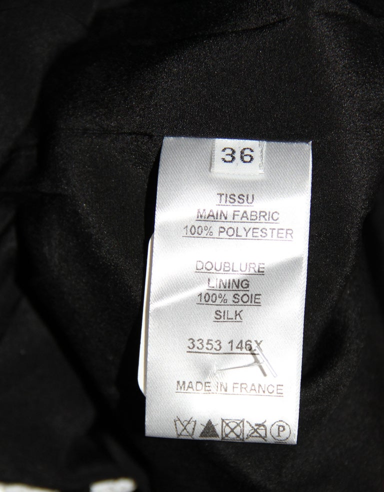 Balmain Black and White Sequin Dress For Sale 4