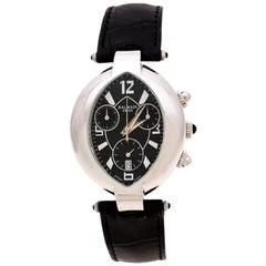 Balmain Black Stainless Steel Excessive Chronograph Women's Wristwatch 32 mm