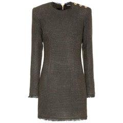 Balmain Bouclé Mini Dress