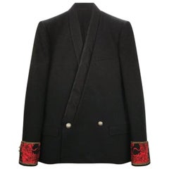 Balmain Embellished Black Blazer for Men