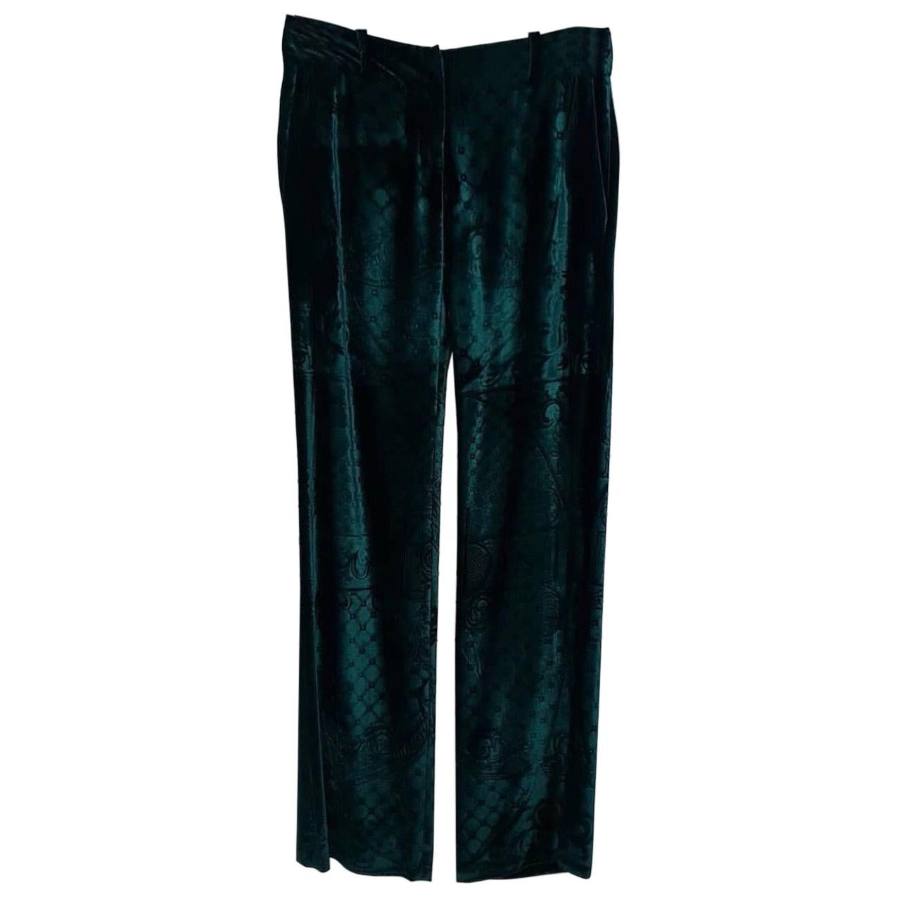 Balmain Faberge  Runway Velvet  Pants