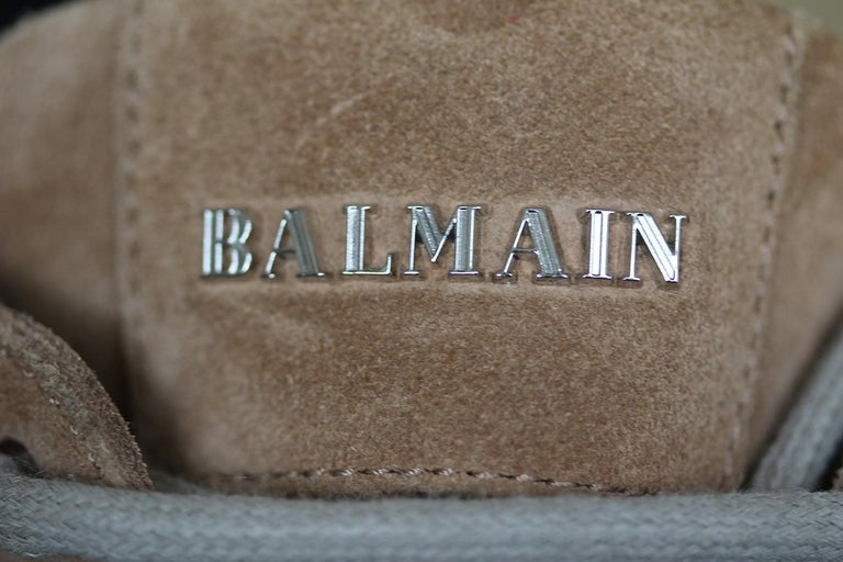 Balmain Ranger Suede Ankle Boots  For Sale 2