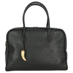 Balmain Woman Shoulder bag Black Leather