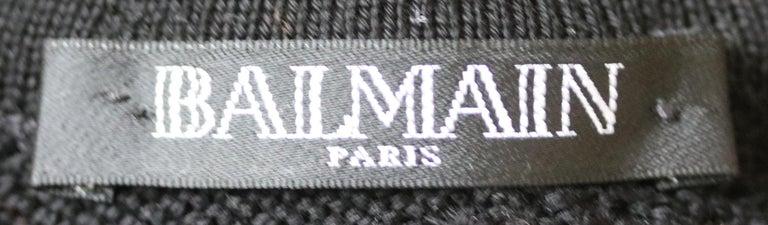 Women's Balmain Zebra-Print Cotton Mini Dress  For Sale