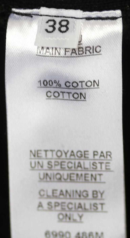 Balmain Zebra-Print Cotton Mini Dress  For Sale 1