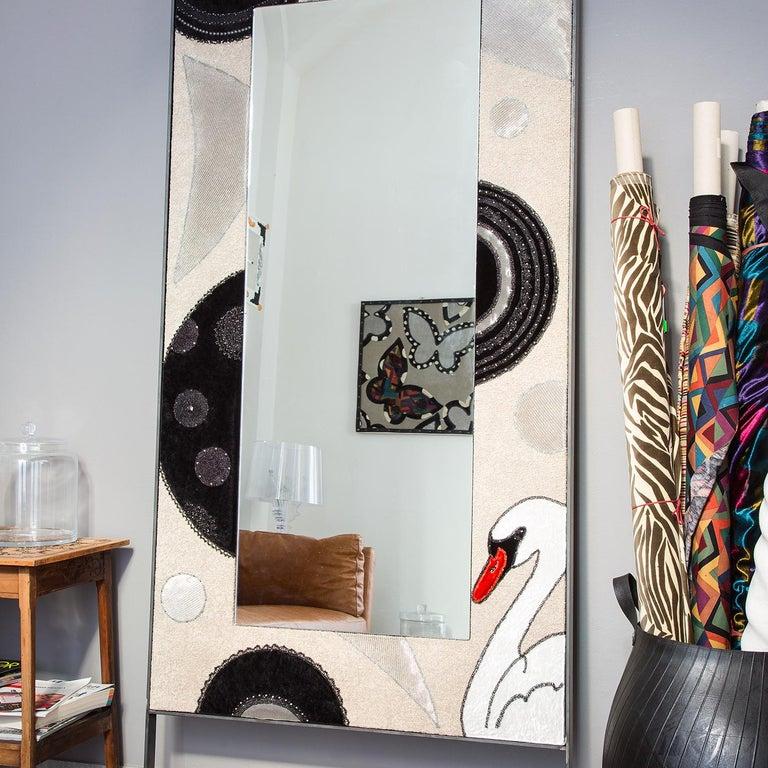 Italian Baloon Mirror by Younik For Sale