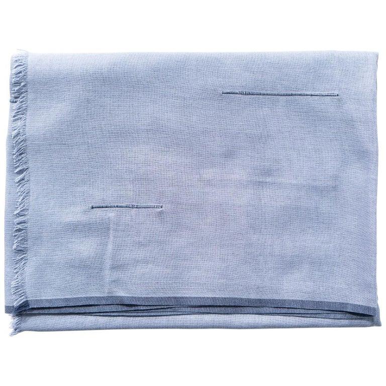 BALTIC MIST  Handloom Scarf / Wrap / Shawl For Sale