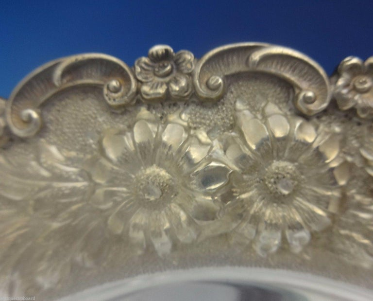 American Baltimore Beauty by Baltimore Silversmiths Sterling Silver Dessert Plate For Sale