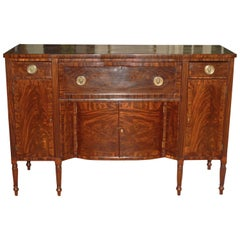 Baltimore Federal Sideboard with Butler's Secretary