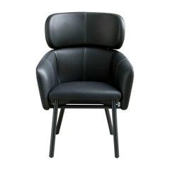 Balù Extra Large Black Chair by Emilio Nanni