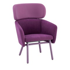 Balù Extra Large Lilac Chair by Emilio Nanni