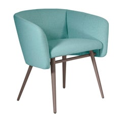 Balù Met Light Blue and Gray Chair by Emilio Nanni