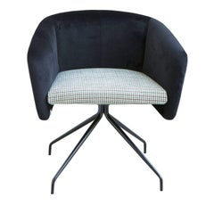 Balù Swivel Chair by Emilio Nanni