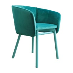 Balù Turquoise Chair by Emilio Nanni