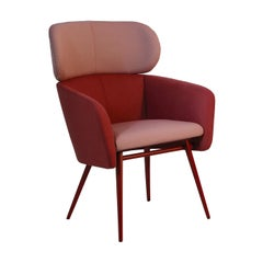 Balù Extra Large Met Burgundi Chair by Emilio Nanni
