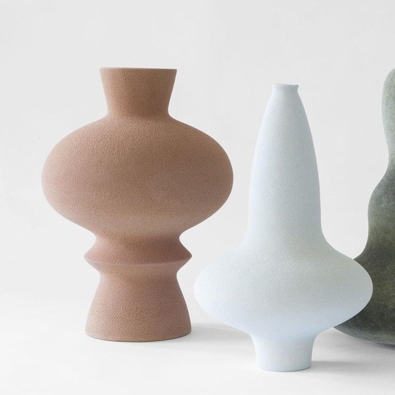 Danish Unique Ceramic Vases by Turi Heisselberg Pedersen For Sale