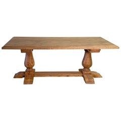 Balustre Leg Table