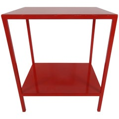 Red Tables