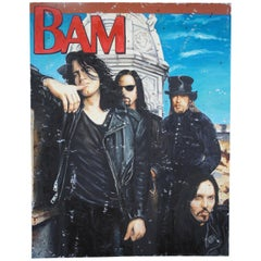 Bam Oil Painting by Kathleen Sullivan Realism Portrait Rock Band Artwork