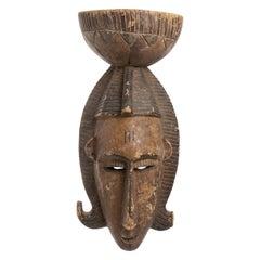 Bambara Painted Mask, Mali, 20th Century